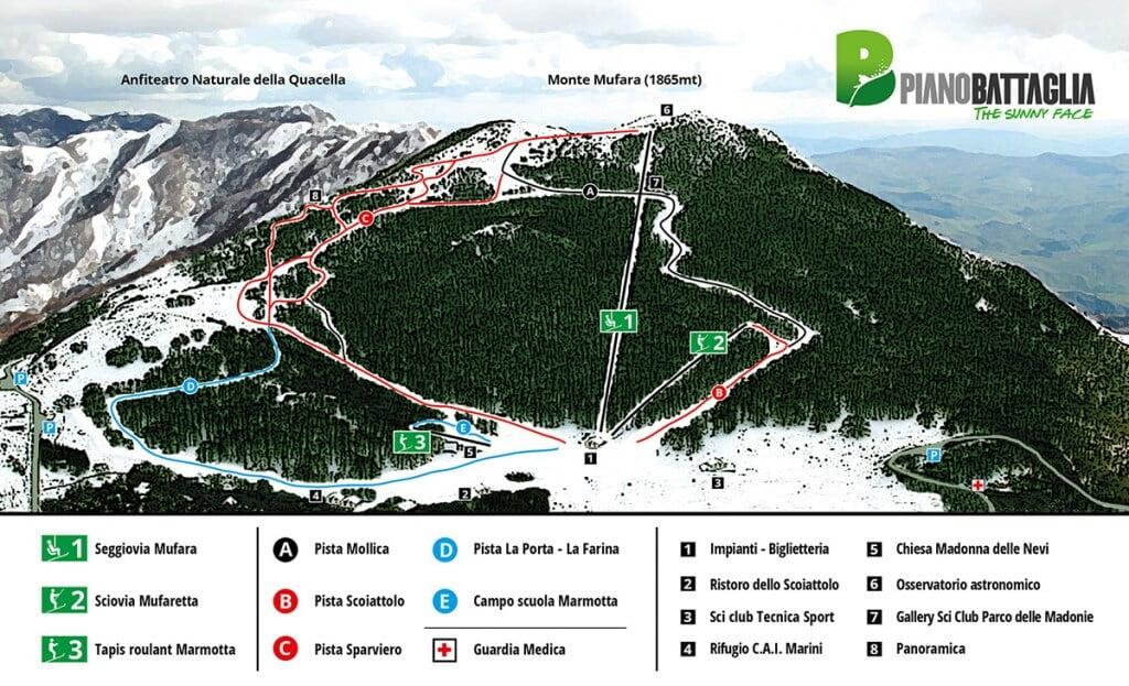 Sycylia stoki narciarskie