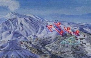 Sycylia stoki narciarskie Etna